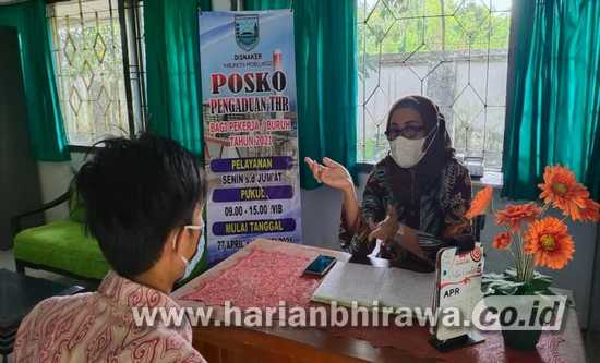 Perusahaan di Kabupaten Probolinggo Wajib Bayar THR Paling Lambat – 7 Lebaran