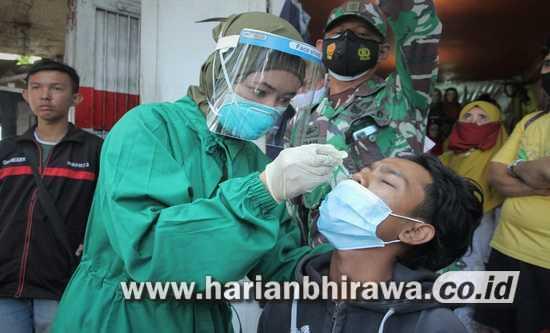 Sembilan Warga Kota Probolinggo Di-swab Karena Tak Pakai Masker