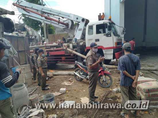 Pemkot Pasuruan Hentikan Pembangunan Tower, Gudang dan Perumahan