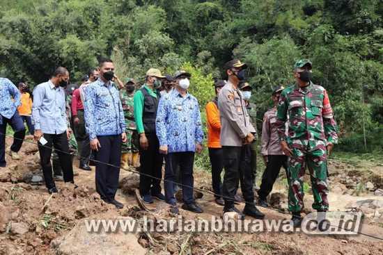 Bupati Tulungagung Imbau Bencana Alam di Dua Kecamatan Segera Ditangani