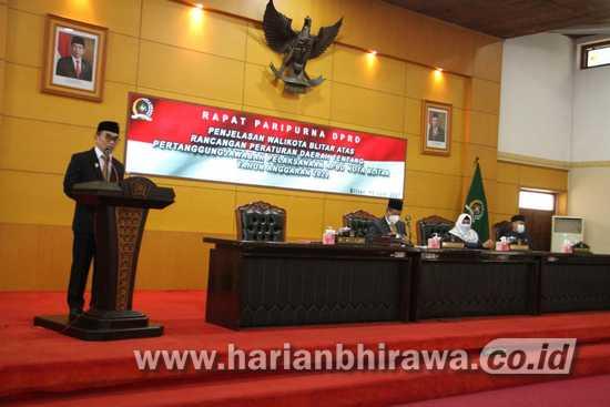 DPRD Kota Blitar Bahas Pertanggungjawaban Pelaksanaan APBD 2020