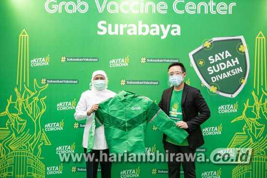 Perluas Kerja Sama dengan Kemenkes RI, Hadirkan Pusat Vaksinasi di Surabaya