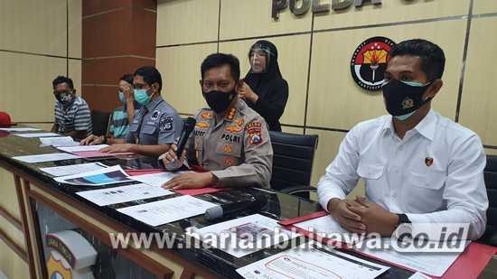 Kepolisian Daerah Jawa Timur Amankan Pelaku Hate Speech Penyekatan Suramadu