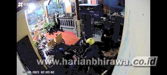 Komplotan Pencuri Gasak Motor Jurnalis Kota Batu dan Plat Merah