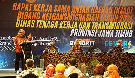 20 Daerah Tandatangani Pakta Integritas KSAD Bidang Transmigrasi