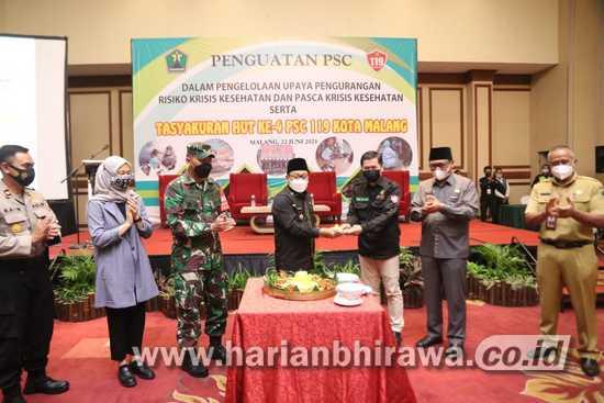 Penguatan PSC 119, Wali Kota Malang Ingatkan Pentingya Dukungan Berbagai Pihak