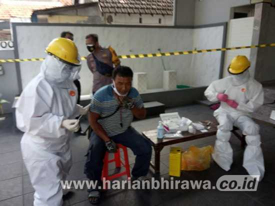 50 Orang Warga Sidomulyo Kota Mojokerto Dinyatakan Positif Terpapar Covid-19