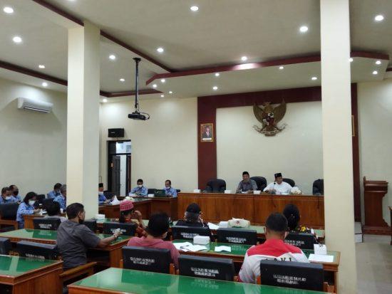 Rapat Komisi IV DPRD Trenggalek dengan Paguyupan Perwakilan Masyarakat Ditunda