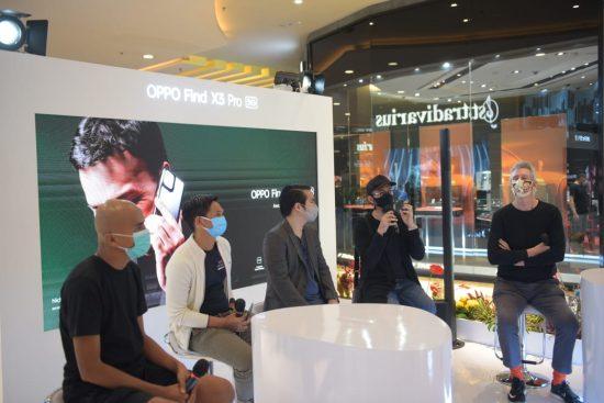 Penjualan Perdana OPPO Find X3  5G Dimeriahkan Peluncuran Finders Book