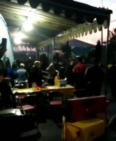 Viral Video Penyerangan Pos Penyekatan di Suramadu, Netizen: Pak Polisi Tolong Pelaku Ditindak