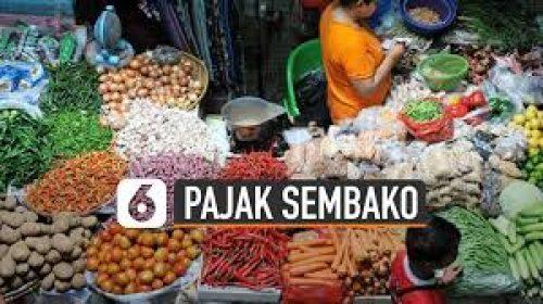 Pajak Sembako Mewah