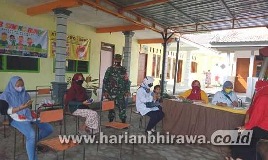 Vaksinasi Massal Covid-19 di Mojokerto Raya Dikawal TNI-Polri