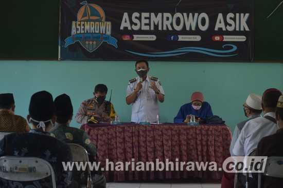 Jelang Idul Adha, Tiga Pilar Kecamatan Asemrowo Sosialisasikan SE Wali Kota