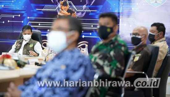 Wali Kota Madiun Rakor Bersama Forkopimda Bahas Vaksinasi dan Bansos