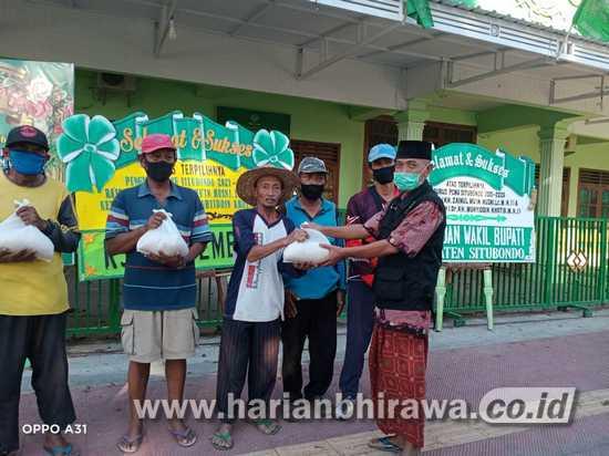 Lazis-NU Bersama HIPSI Situbondo Santuni Warga Tak Mampu