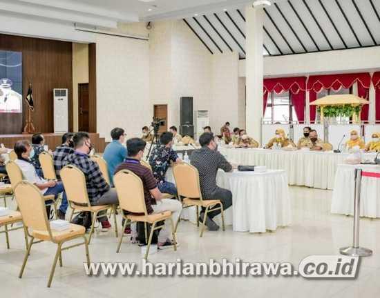 Bupati Jember Kumpulkan Rekanan Pengadaan Wastafel APBD 2020