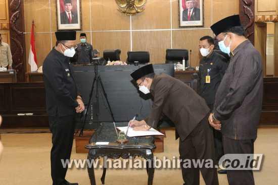 DPRD Sidoarjo Sahkan Raperda Menjadi Perda RPJMD 2021-2026