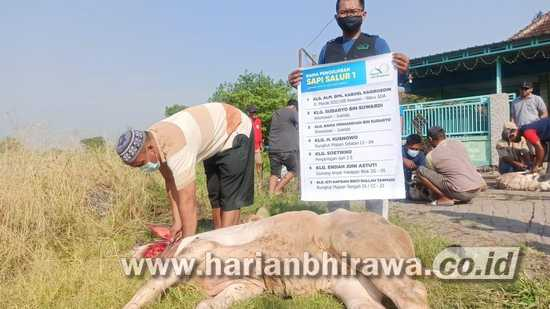 Desa Miskin di Sidoarjo Dibantu Hewan Kurban