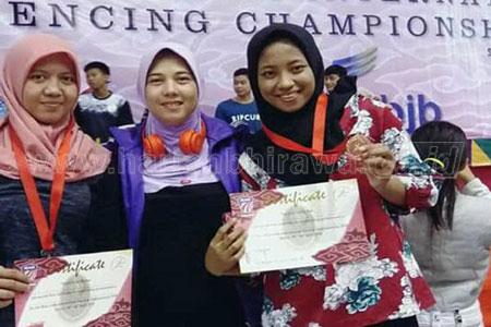Atlet Anggar Kota Probolinggo Incar Medali PON XX