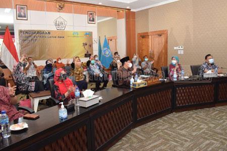 Kabupaten Lamongan Raih Penghargaan KLA Kategori Nindya