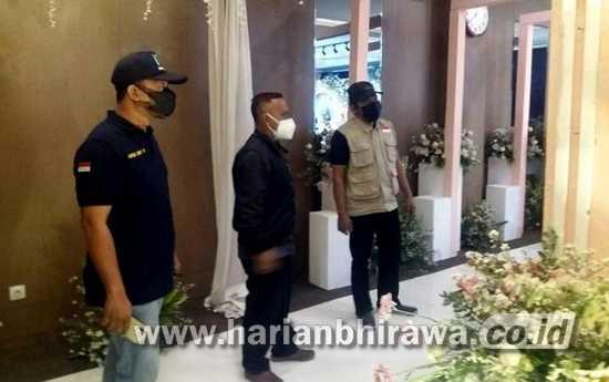 Satgas Covid Kota Kediri Bubarkan Acara Pernikahan di Hotel