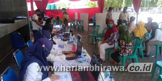 500 Karyawan PT PMMP Situbondo Dukung Serbuan Vaksinasi Covid-19