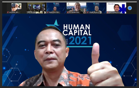BPJAMSOSTEK Borong 4 Penghargaan Dalam Human Capital on Resilience Excellence Award 2021