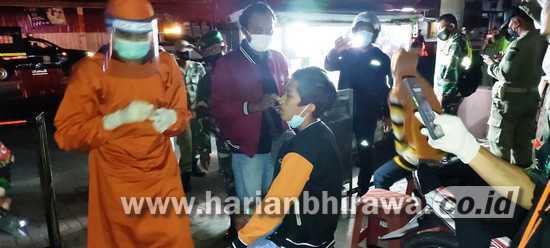 Timgab Aman Nusa Situbondo Gelar PPKM Darurat Disiplin Prokes