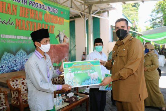 Wali Kota Probolinggo Imbau Pembagian Daging Kurban Tak Gunakan Kantong Plastik