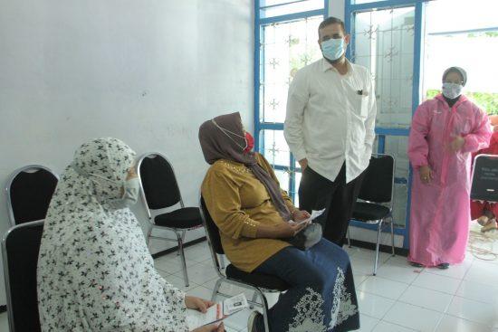 Kodim 0820/Kota Probolinggo Droping 1.650 Vaksin Covid-19