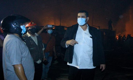 Pengolahan Kayu di Kota Probolinggo Ludes Terbakar