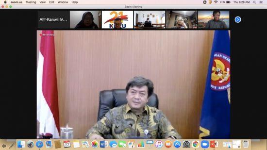 KPPU Gelar FGD Secara Daring Cari Solusi Pulihkan Perekonomian Bali