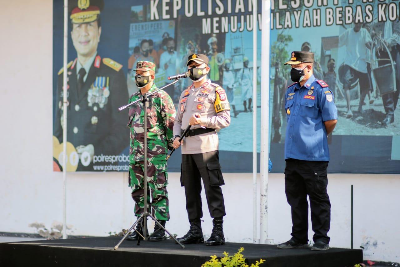 Polresta Probolinggo Lauching Tracer Digital dan Tracer Lapangan