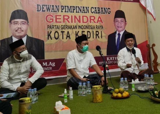 DPC Partai Gerindra Kota Kediri Gelar Doa Bersama untuk Negeri