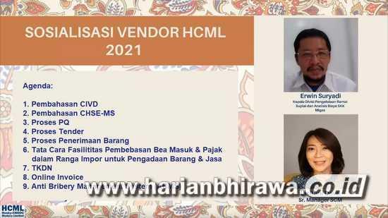HCML Tingkatkan Kemampuan Rekanan di Jatim Melalui Vendor's Day
