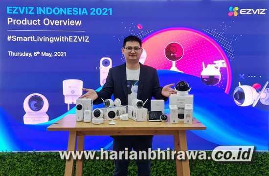 EZVIZ Kenalkan 10 Produk Smarthome Berkualitas di Surabaya dan Bali