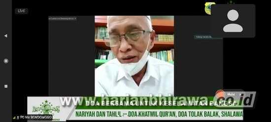 Bupati Bondowoso Apresiasi PCNU Berikan Paket Pulih Sehat pada Warga Isoman