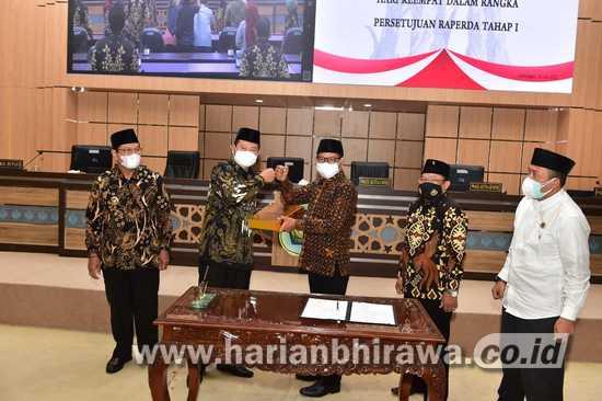 Enam Raperda Kabupaten Lamongan Disahkan