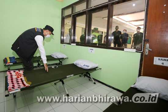 Rumah Sehat Kota Surabaya Terisi 3-10 Pasien Gejala Ringan