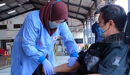 Screening Ketat, Donor Plasma Konvalesen JCI East Java Hanya dapat 60 Kantong