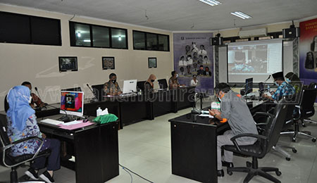 Disperpusip Jatim Gelar Rapat Teknis Penyelamatan Arsip