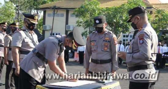 Kapolres Sampang Rotasi Perwira Korps Bayangkara