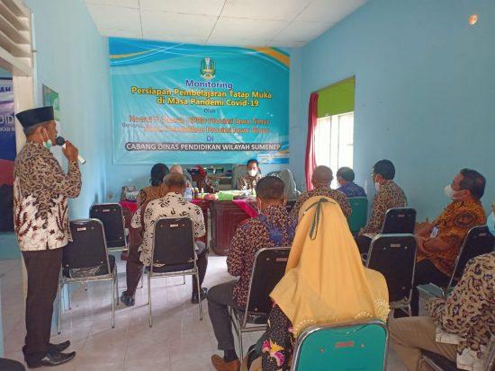 Komisi E DPRD Jatim Monitoring Persiapan PTM di Kabupaten Sumenep