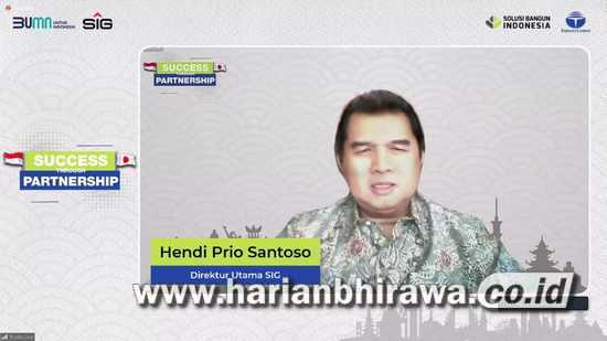 Fokus Pengembangan Bisnis, Hendi Prio Santoso: SIG Jalin Kemitraan dengan TCC