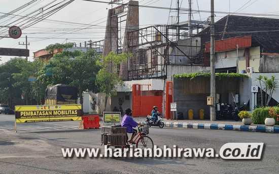 Mobilitas Warga Kabupaten Tulungagung Turun Stagnan di Angka 20,3 Persen
