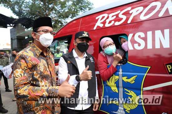 Bupati Sidoarjo dan Wali Kota Surabaya Kolaborasi Percepatan Vaksinasi