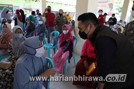 Bupati Nyatakan 300 Lebih Masyarakat Tuban Telah Terima Vaksin