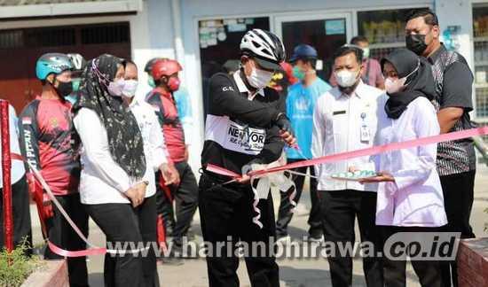 Wali Kota Madiun Resmikan RTH Respati Manis dan Merak Indah