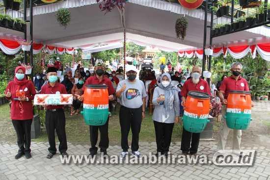Wali Kota Blitar Santoso Launching Program Gempita Dan Gerdu Kasih