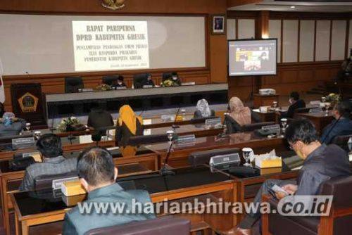 PU Fraksi Pertanyakan Keseriusan Ranperda Usulan Prakarsa Pemerintah